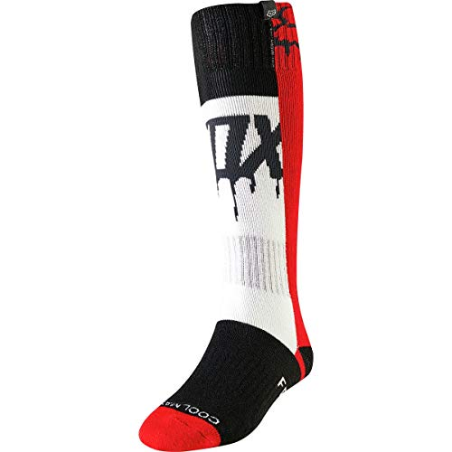 Fox Socks Lady MATA Drip Mx Flame Red Os