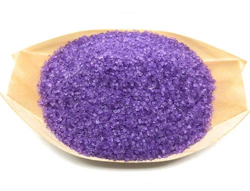 Ultimate Baker Purple Sanding Sugar - Kosher Certified Natural Medium Crystal Purple Cake Decorating Sugar (1lb Bag)
