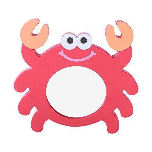 TOYANDONA - 1 pieza de espejo para bebé, diseño de cangrejo con efecto espejo para baño, juguete para niños, regalo para Navidad, juguetes educativos