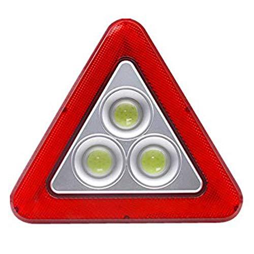 YSSSZ Triángulo del Coche Señal de luz LED de Emergencia Luz de Advertencia Señal de Advertencia de Falla Luz de Parada de Emergencia del vehículo Señal de Flash Se Puede Cargar
