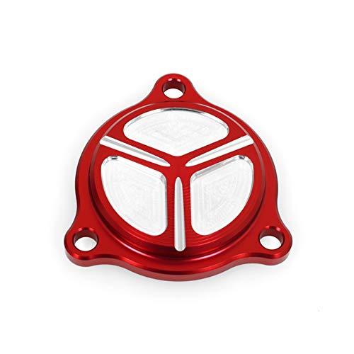 DShanLa Motorölfilterabdeckung für Suzuki DR-Z 400 DRZ400 SM/S/E LT-Z LTZ400 LTR 450 Motorradzubehör CNC Kurbelgehäusekappe DRZ400SM DShanLa (Color : Red)