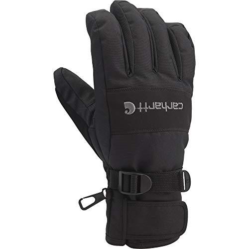 Carhartt Men's W.B. Waterproof Windproof Insulated Work Glove, Black, X-Large