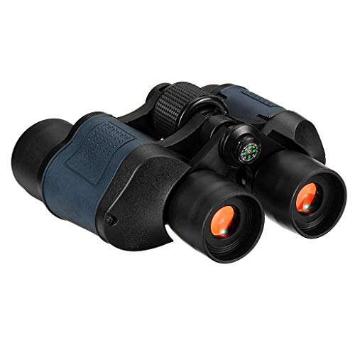 60X Zoom Binoculars, Compact Binoculars for Adults and Kids, High Powered Binocular with ns Great for Bird Watching Hunting Concerts Outdoor Sports BJY969