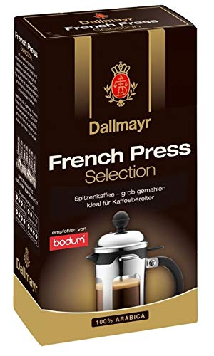 Dallmayr Kaffee French Press 250g Selection Filterkaffee, gemahlen, 4er Pack (4 x 250 g)