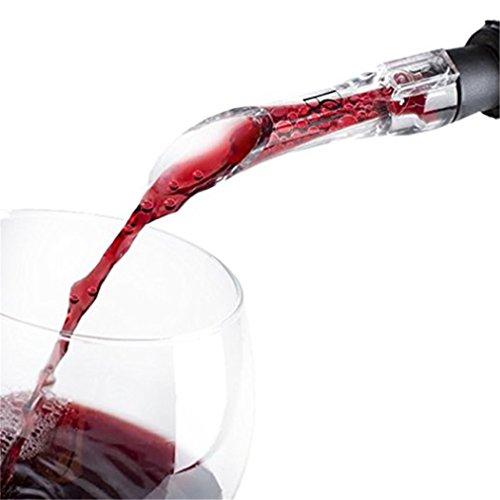 CanVivi Weinbelüfter Wein Ausgießer Glas Dekantierungsausgießer