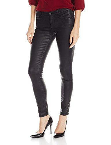 AG Adriano Goldschmied Women's The Legging Ankle Jean, Super Black Leatherette, 26