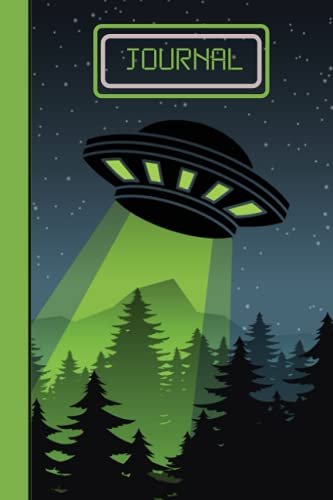 JOURNAL: Alien Journal/Notebook for Writing Ideas, Expressing Thoughts, and Recording Special Moments for Kids, Boys, Girls, and Teens