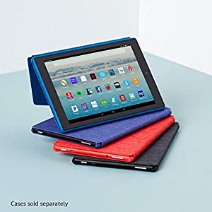 """All-New Fire HD 10 Tablet with Alexa Hands-Free, 10.1"""" 1080p Full HD Display, 32 GB, Black - with Special Offers"""