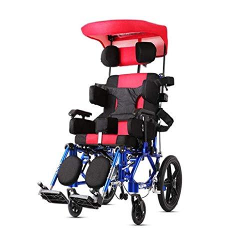 L-Y Kind Ouderen Rolstoelen 26Kg Transport Medische Ergonomische Geavanceerde Comfortabele Armsteun Verstelbare Backs Benen, Kleur, A