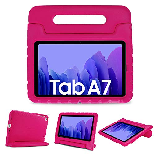 "ProCase Funda Infantil para Samsung Galaxy Tab A7 10.4"" 2020, Estuche Antigolpes con Asa Convertible, Carcasa Súper Protectora Ligera para Galaxy Tab A7 10.4 2020 T500 T505 T507"