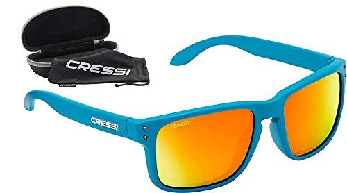 Cressi Blaze Sunglasses Gafas de Sol con Lentes HTC polarizadas y repelentes al Agua, Adultos Unisex, Aguamarina, Talla única