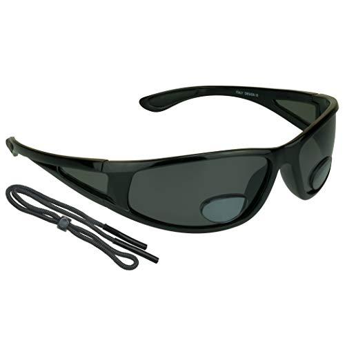 proSPORT Fishing Polarized Bifocal Sunglasses +1.50 for Mens Side Shield for Fisherman
