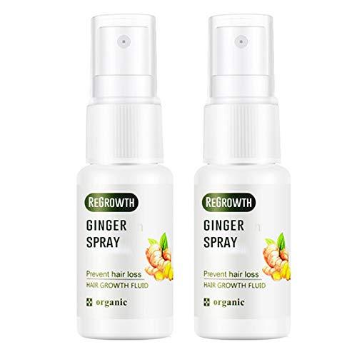Btruely Haarwuchsflüssigkeit, enthält mehrere Pflanzenextrakte, 20 ml natürliches Unisex-Pflanzenextraktserum für Man Home, Haarwuchs Essenz Haarwuchsöl Flüssigkeit für Männer Frauen