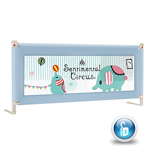 Why Should You Buy 3 Sides Bed Rails for Toddlers 150/180/200cm, Bed Rails Extra Long and Tall, Safe...