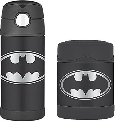 DC Comics Batman Funtainer Thermosflasche und Lebensmittelbeh er