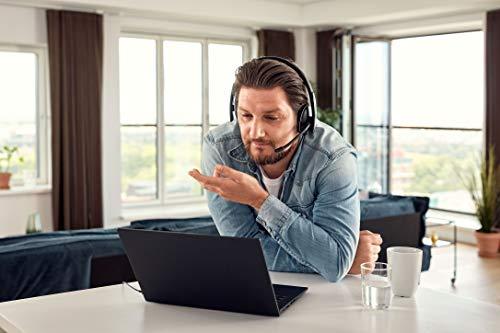 Sennheiser PC 8.2 USB-On-Ear Headset PC, Kopfhörer mit Kabel, Integrierte Lautstärkeregelung, Sicher Sitzender Kopfbügel, Geräuschunterdrückendes Mikrofon, Für Online-Anrufe & -Unterricht
