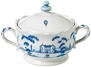 Juliska Country Estate Sugar Pot Delft Blue Main House