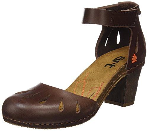 art Damen 0144 Mojave Vachetta I Meet Geschlossene Sandalen mit Keilabsatz, Braun (Brown), 39 EU