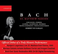 Saint Matthew Passion by J.S. Bach (2004-04-20)