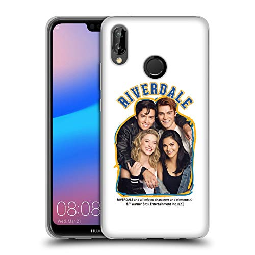 Head Case Designs Offizielle Riverdale Riverdale Cast 2 Kunst Soft Gel Handyhülle Hülle Huelle kompatibel mit Huawei P20 Lite