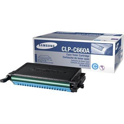 Samsung CLP-C660A/SEE 2K Yield Cyan Toner for CLP-610ND/CLP-660ND/CLX-6200FX/CLX-6210FX/CLX-6240FX