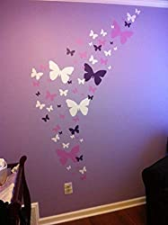 Butterfly Wall Decal Decor