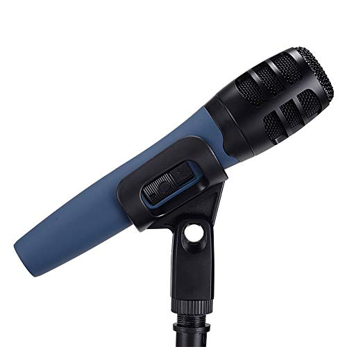 QCHEA Micrófono de Instrumento dinámico de Mano/Soporte hipercardioide