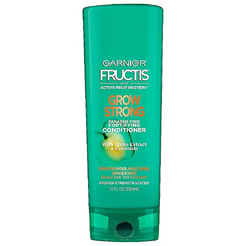 Garnier Fructis Grow Strong Fortifying Conditioner 12 Fl Oz (Pack of 2)