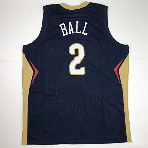 Unsigned Lonzo Ball New Orleans Blue Custom Stitched Basketball Jersey Size Men's XL New No Brands/Logos