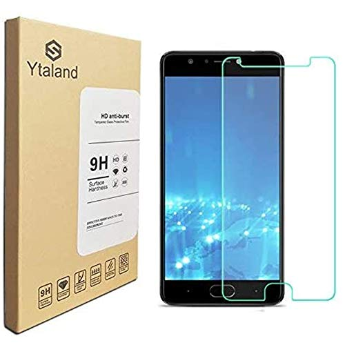 [2 Pack] Ytaland for BLU Life One X3 Screen Protector, Tempered Glass Anti-Fingerprints Thin 9H Screen Hardness Screen Protector for BLU Life One X3