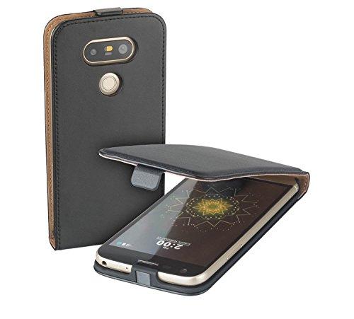 yayago Flip Tasche für LG G5 / LG G5 SE/LG G5 Lite Schutzhülle Flip Hülle Hülle Klapphülle Schwarz
