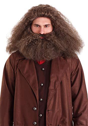 Fun Costumes Gamekeeper Wizard Wig and Beard Standard Brown
