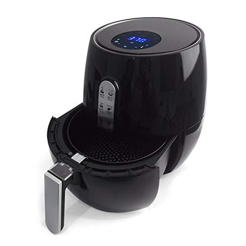 TOYS Freidora Sin Aceite, 5.0L Freidora De Aire Caliente Air Fryer con Temperatura Y Temporizador Ajustable, Cesta Antiadherente, Libre De BPA[Clase De Eficiencia Energética A+++]