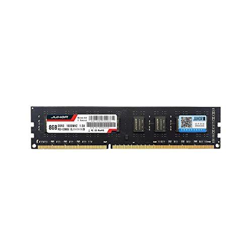 Docooler JUHOR DDR3 4GB/8GB 1600MHz 1.5V Desktop PC Memory B