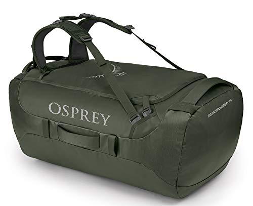 Osprey Transporter 95 Travel Duffel Bag, Haybale Green, One Size