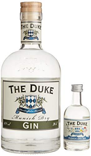 The Duke OnPack Munich Dry Gin 0.7 l + Wanderlust Gin 0.05 l Spirituose (1 x 0.7 l + 0.05 l)
