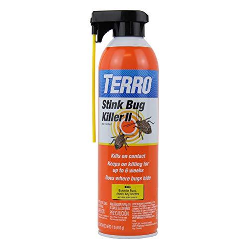 Terro T3501-6 Stink Bug Killer Aerosol Spray, Orange