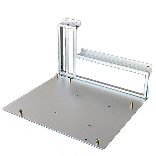 Aluminum Alloy Case ITX Computer Open Air Case Bracket DIY Bare Frame PSU IO Backplane Support Graphics Card