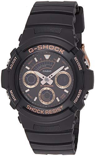Casio G-Shock Analog-Digital Black Dial Men's Watch-AW591GBX1A4DR