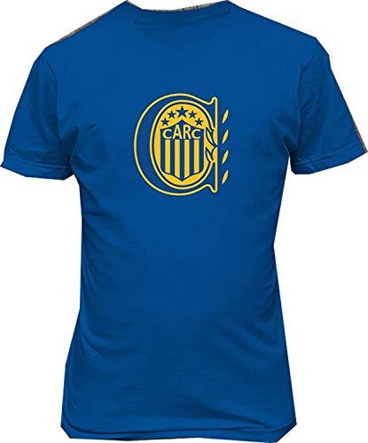 SWT-T Hombre Rosario Central Argentina Fútbol Fútbol Casual Camiseta