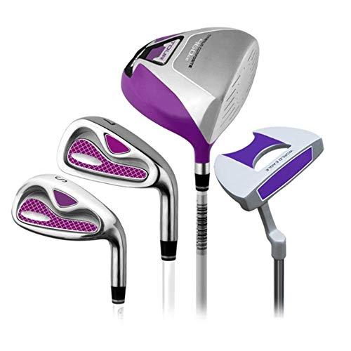 ZXL Golfschläger für Männer & Frauen 4-teiliges Golf-Set für Damen Rod Golf Club Golf Half Set Putter Rechtshänder Gebraucht Golf Putter Golfschläger für Männer und Frauen (Farbe: Eine Farbe, Gr