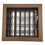 Einside - Rejilla de ventilación para chimeneas (19,8 x 19,8 cm), color blanco