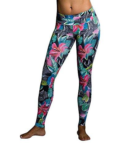 Onzie Yoga Leggings 209 Aloha (Onzie Aloha, Medium/Large)