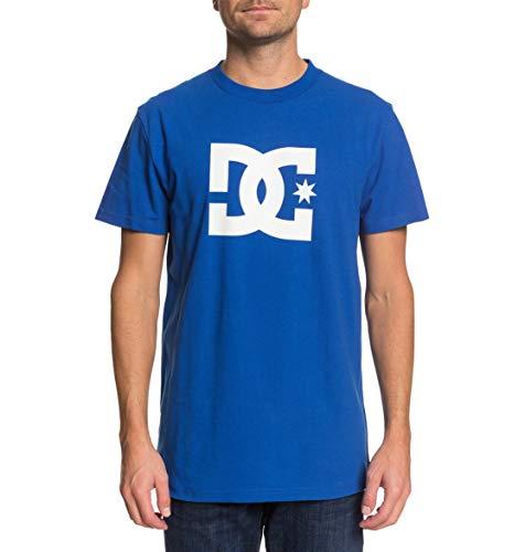 DC Shoes Star - Camiseta para Hombre Camiseta, Hombre, Nautical Blue/White p, S