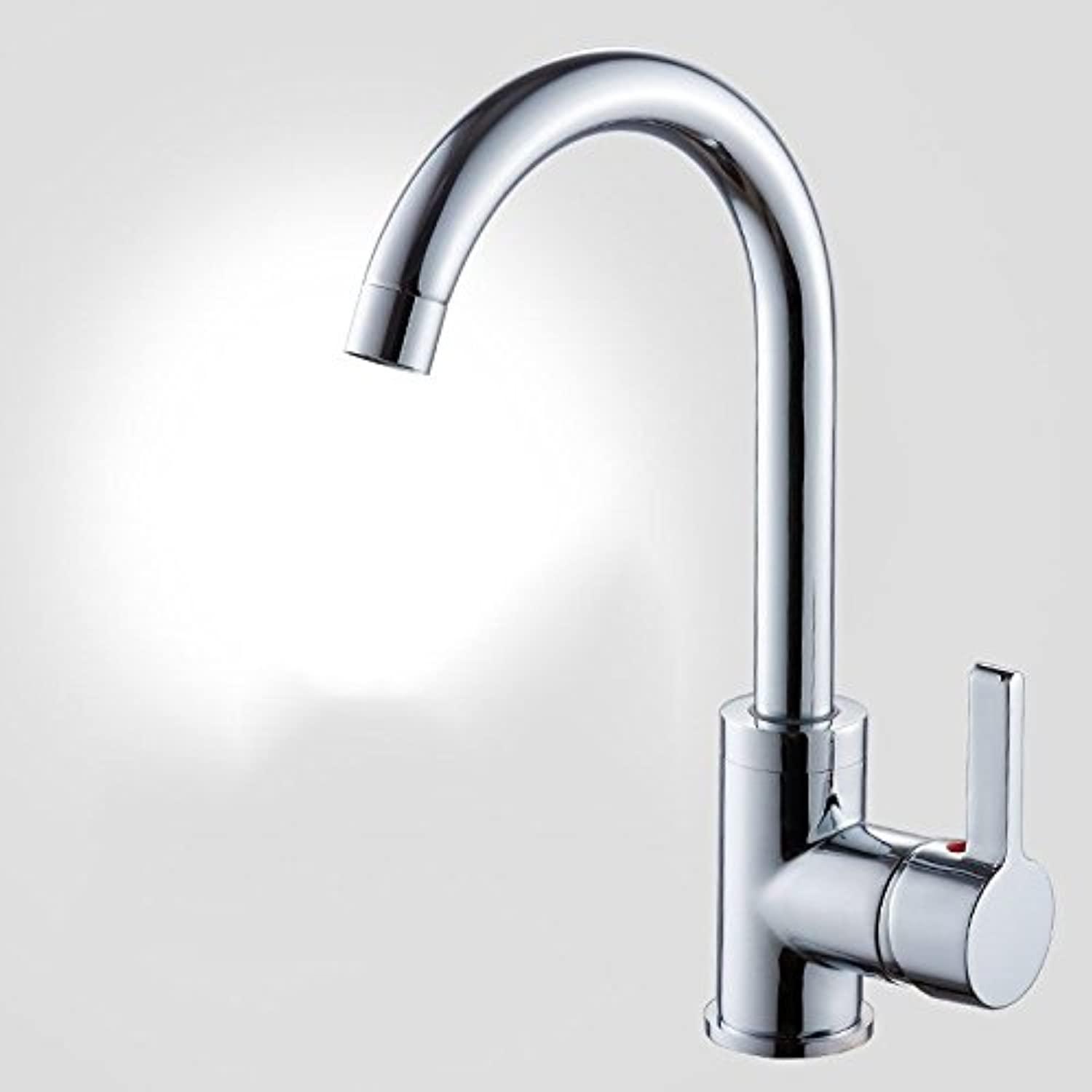 MulFaucet Faucet Water tap Taps Swivel Hoses Kitchen Copper hot and Cold redating Home Single Handle Single Hole B