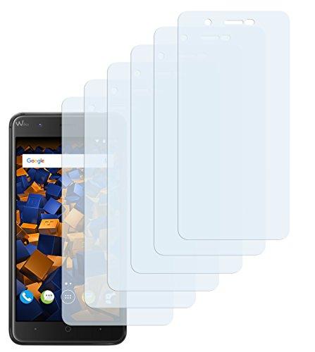 mumbi Schutzfolie kompatibel mit Wiko Harry Folie klar, Bildschirmschutzfolie (6X)