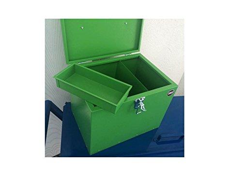 Pferde-Putzbox grün; Putzkiste für Pferde; Pferde-Putzbox; Putzkiste; Putzkasten; Alu-Putzbox, für Reiter und Ihre Pferde entwickelt - 7