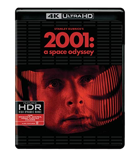 2001: A Space Odyssey (4K UHD Blu-ray + Blu-ray)  $15 at Amazon
