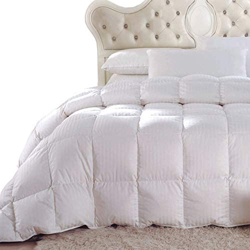 Light and Buffy Oversized King Hypoallergenic Down Comforters Medium Warmth 100/% Cotton Solid Shell Royal Hotel Down Comforter Duvet Insert