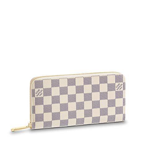 Louis Vuitton Zippy Wallet Damier Azur Canvas (Beige)
